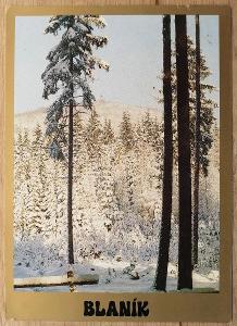 Pohlednice 1987 - Blaník
