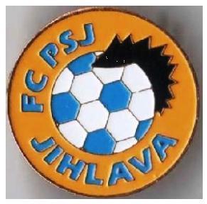 "Odznak fotbalový klub    "" FC Jihlava """