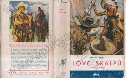 Lovci skalpů  Zdeněk Burian SaL TaM 1937 PŘEBAL