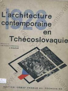 L\'architecture  Tchécoslovaquie 1928 Krejcar