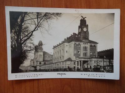 PRAHA  -  Wilsonovo nádraží......13.10.1936
