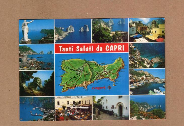 CAPRI...ITÁLIE...STAV DLE FOTA (20) - Pohlednice