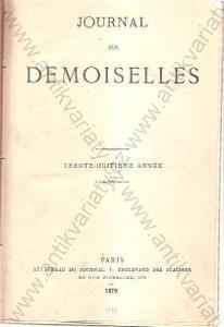 Journal des demoiselles 1870-71, 1873