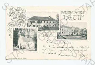 Lázně Letiny Plzeň- jih koláž více záběrů kaple re