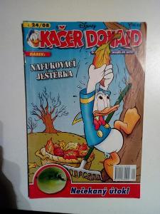Časopis, Kačer Donald, č. 24/2008, pěkný stav