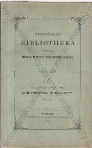 Dějepis města Prahy Díl IX. W. W. Tomek 1893