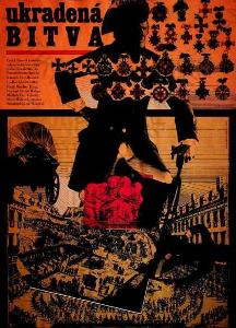 Ukradená bitva Zdeněk Ziegler film plakát Liška