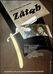 Zátah Dimitrij Kadrnožka film plakát Strnad