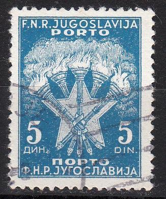 Jugoslávie, Porto, ražená - od 1kč