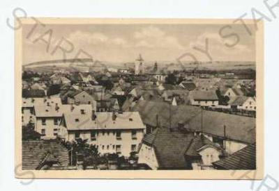 Dobřany Plzeň- jih částečný záběr města ORBIS