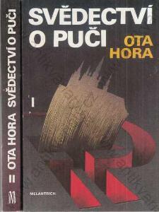 Svědectví o puči I a II Ota Hora 1991 Melantrich