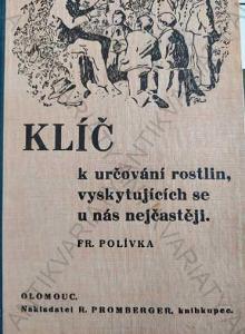 Klíč k určování rostlin František Polívka