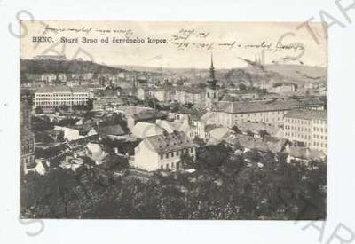 Brno pohled na město z výšky