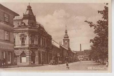 Rakovník, náměstí, radnice, AUTO