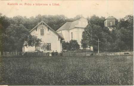 Líšná (Lišná)- Kostel sv. Petra, hájovna