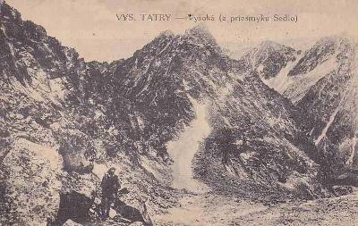 V.TATRY - VYSOKÁ Z PRŮSMYKU SEDLO -12-NY85