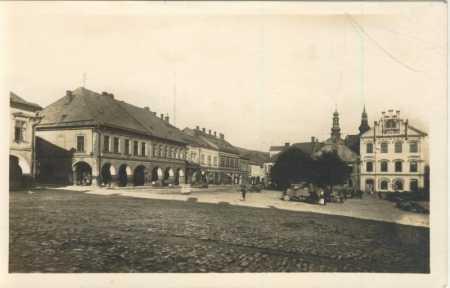 Česká Třebová - náměstí, AUTO