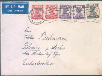 17B19 Dopis z Baťovy továrny v Singapuru/ Třebnice , p. Meclov , H.Týn