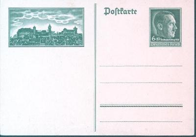 14B404 Neprošlá celina, známka Adolf Hitler
