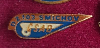 P97 Odznak ČSAD Praha Smíchov, autobusová doprava  1ks