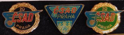 P98 Odznak ČSAD Praha  3ks