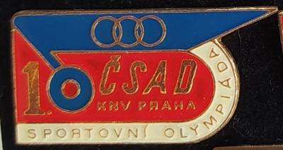 P98 Odznak ČSAD 1. sportovní olympiáda Praha  1ks