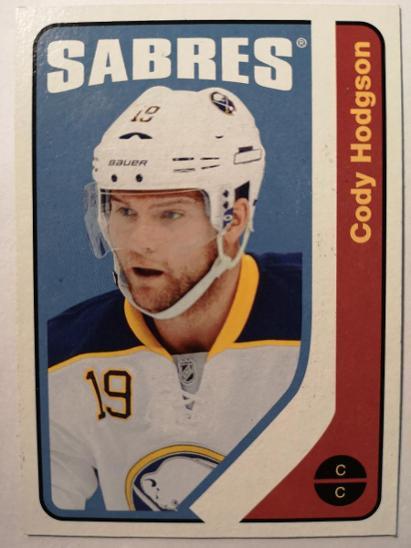 Cody Hodgson - Buffalo Sabres - Sportovní sbírky