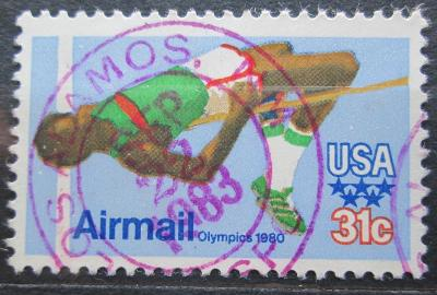 USA 1979 LOH Moskva, skok do výšky Mi# 1405 0597
