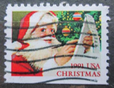 USA 1991 Vánoce, Santa Claus Mi# 2196 D 0598