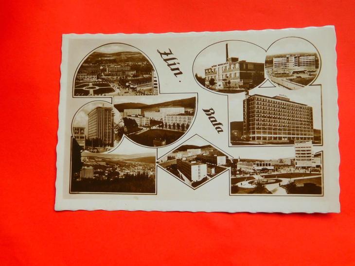 ZLÍN BAŤA 1940 - Pohlednice