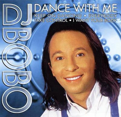 DJ BOBO-DANCE WITH ME CD ALBUM 1999.