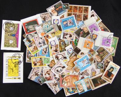Sbírka známek Ajman a další podobné oblasti (šejkstáty)