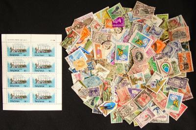 Velká sbírka svět bývalý Commonwealth, mnoho starých, i neražené! (1)