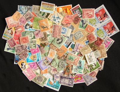 Velká sbírka svět bývalý Commonwealth, mnoho starých, i neražené! (5)
