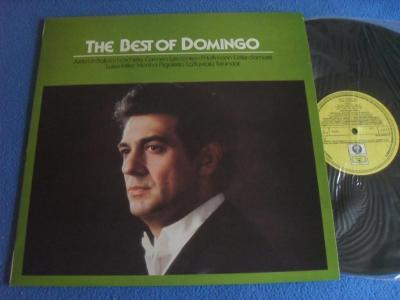 LP Placido Domingo - The Best Off