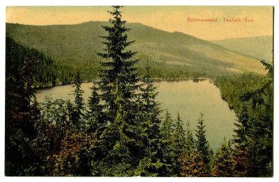 Čertovo jezero, Železná Ruda, Klatovy, Šumava