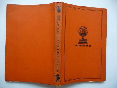 Das Buch der Weisen - Eliphas Levi - 1928