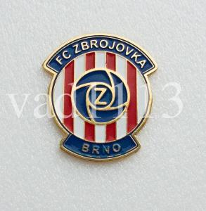 """Odznak fotbalový klub    """" FC Zbrojovka Brno """""""