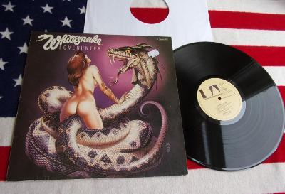 💥 LP: WHITESNAKE - LOVE HUNTER, deska jako nová, 1.press W. Germany