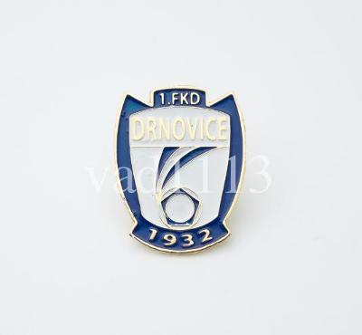 "Odznak fotbalový klub    "" FK Drnovice """