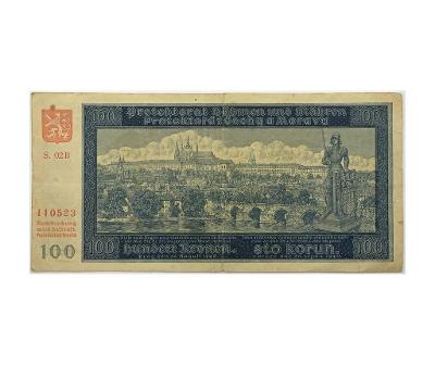 100 K 1940, II. vydání, série 02 B
