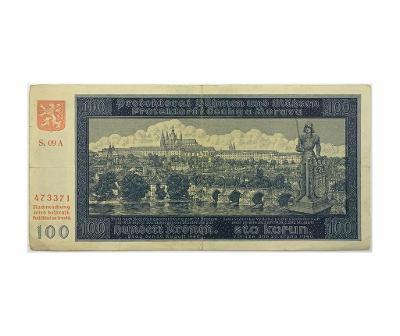 100 K 1940, II. vydání, série 09 A