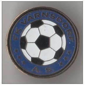 "Odznak fotbalový klub   "" FK Varnsdorf """