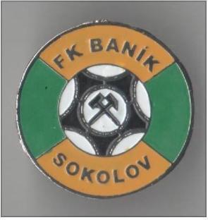 """Odznak fotbalový klub   """" FK Banik Sokolov """""""