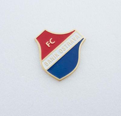 "Odznak fotbalový klub  "" FC Banik Ostrava """