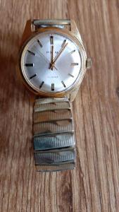 Staré hodinky PRIM s kovovým řemínkem  č.3