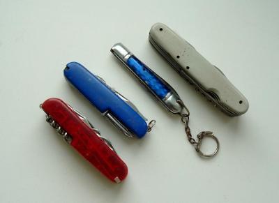 Zavírací nůž 4 kusy