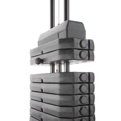 tectake 402757 posilovací stanice multifunkční věž včetně bench press