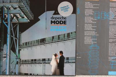 Depeche Mode – Some Great Reward LP 1984 Grey vinyl Germany 1.press EX