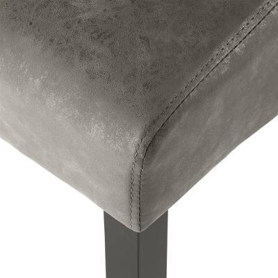 tectake 403628 4 jídelní židle ergonomické, masivní dřevo - mramorová